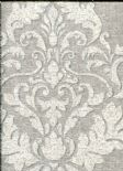 Marcia Wallpaper Hadrian Damask Soft Grey 35507 By Holden Decor For Options